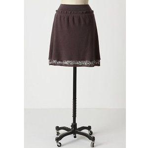 Anthropologie Sz L Knitted & Knotted Maples Skirt